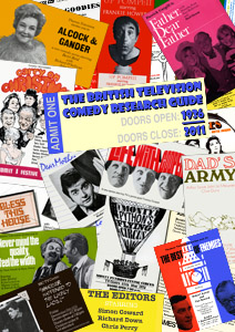 "The cover of the ""British Television Comedy Research Guide 1936-2011 September 2011 download edition"""