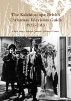 "The cover of the ""The British Christmas Television Guide 1937-2013"""